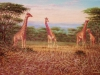 10 Giraffen__Größe: 60x40cm__Preis: 130€ (o.R.)