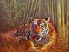 21 Tiger vor Bambuswald__Größe: 60x50cm__Preis: 130€ (o.R.)