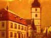 Pfarrheim mit Kirche