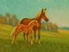 Pferd mit Fohlen