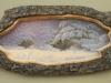 Sauen im Baumstamm__Größe: 37x15cm__Preis: 200€ (m.R.)